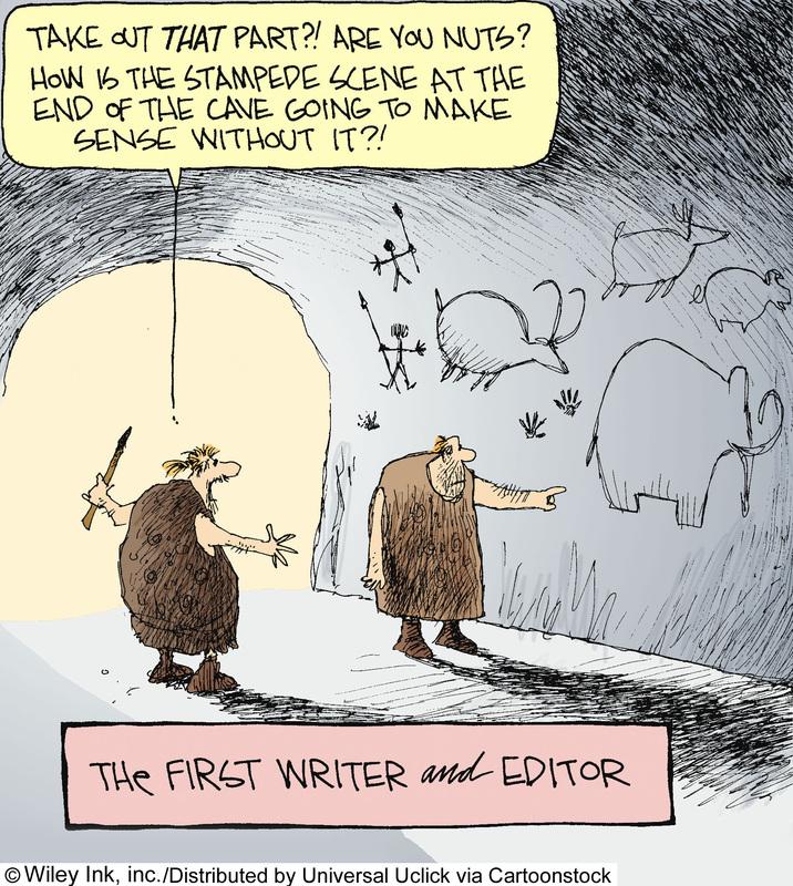 Editing a book